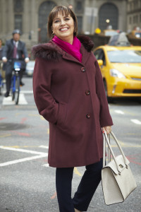 Carol purple coat